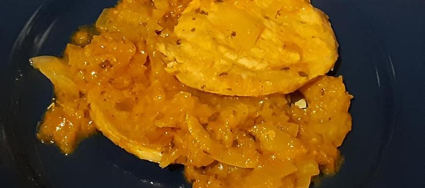 Lonza di maiale al mango