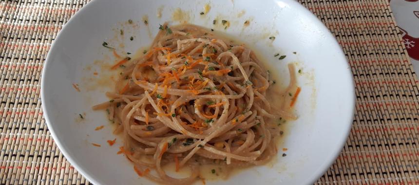 Spaghetti agli agrumi.